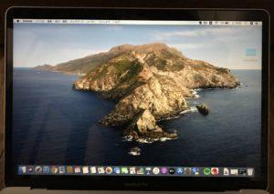 MACBookPro液晶タチバー保護フィルム7