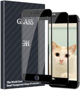 iPhone SE2保護フィルム1
