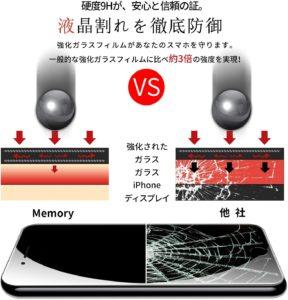 iPhone SE2保護フィルム7