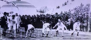 第1回アテネオリンピック男子 100m1