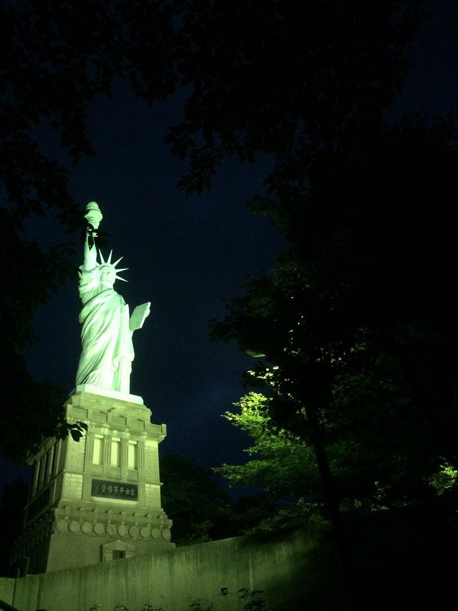 青森いちょう公園自由の女神3
